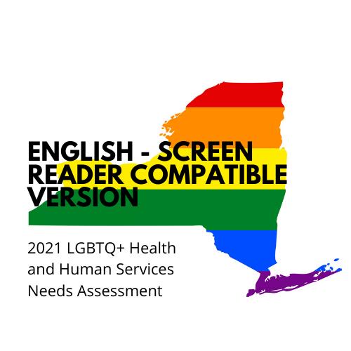 English survey - Screen reader compatible version
