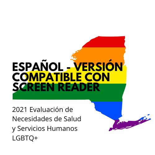 Encuesta en español- versión compatible con screen reader